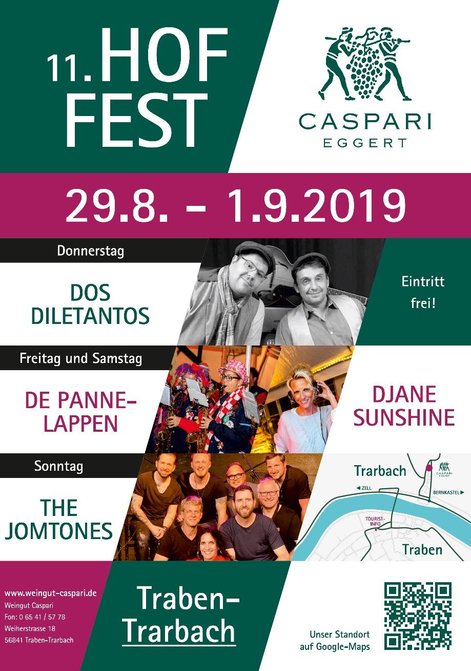 Hoffest Plakat